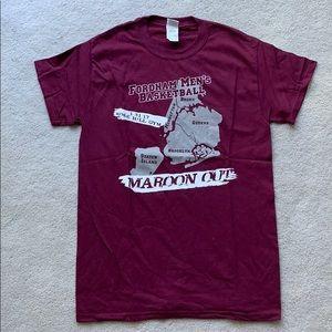 Fordham UniversityMen's Basketball College T-Shirt